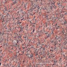 Telhas de granito vermelho de superfície lichia