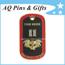 Metal Dog Tag Challenge Coin with Soft Enamel (coin-086)