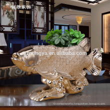 Hotel business decor resin art crafts personalized gift resin animal statue