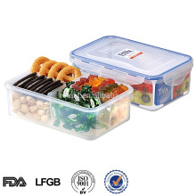 plastic packaging for cookies microwave divided plastic container