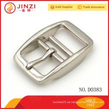 Hardware suministros de aleación de cinc hebilla de cinturón de metal personalizado