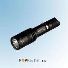 Portable 400lumens CREE Xm-L U2 Brightest Tactical LED Flashlight (POPPAS-F17)
