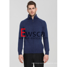 New Fashion Full-Zip Knitted Sweater