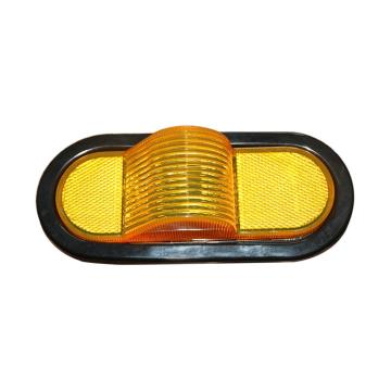 "6 ""Oval DOT Amber Truck Side Marker Lighting"