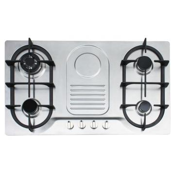 4 Burner Gas Hob dengan Pulse Ignition