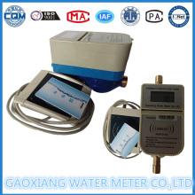 Medidor de água pré-pago do cartão IC do material de bronze (DN15-DN25)