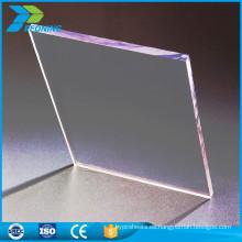 Revestimiento de Uv de plástico de 4 mm de pared baja de láminas de policarbonato sólido
