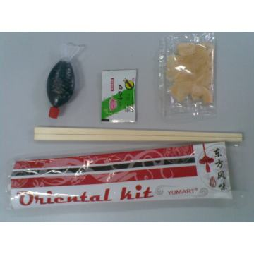 Pequeno Sushi Kit 6 Bolsas
