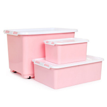 Fashionable Colorful Plastic Storage Container for Household Storage