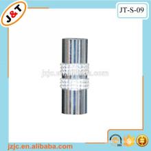 pretty shower curtain pole with diamond finial