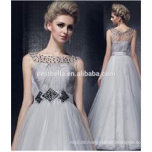 HOTSALL Silber Grau Elegant Edle plus Größe Boutique Abendkleid
