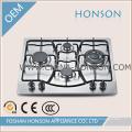 4 горелки газовой плитой Саба HS4516