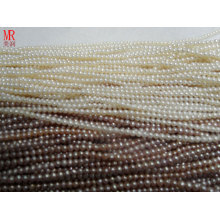 6-7mm AA Grade Round Real Pearl Strands