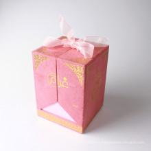 Fantaisie design peau soins cosmétique papier cas boîte