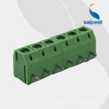 bornier pcb couleur verte pas de 5.0mm