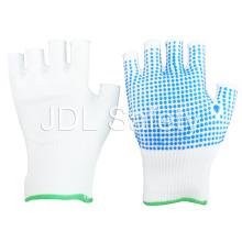 Luva de nylon com PVC pontilhada Palm (S5105)