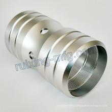 Anodizing CNC Turning Aluminum Coupling