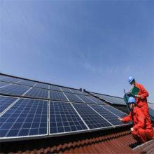 système de montage solaire avec batterie de secours au lithium