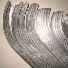 Pièces de centrale électrique Tubes de chaudière Boucliers contre l'érosion