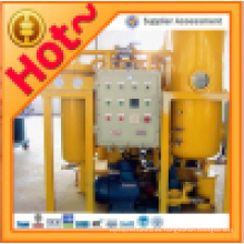 Máquina de purificación de aceite de turbina usada en línea (serie TY)