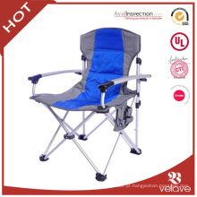 cadeira de praia de alumínio de dobramento