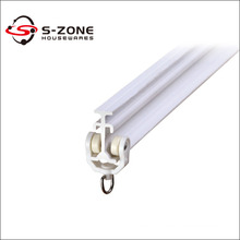 SC02 Good quality PVC plastic curtain rail