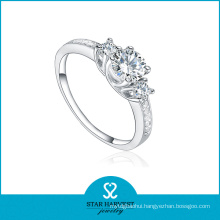 New Designed Fashion Three Stone Rings with Factory Price (R-0156)