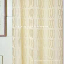 2016 New 100% Polyester Jacquard Window Curtain