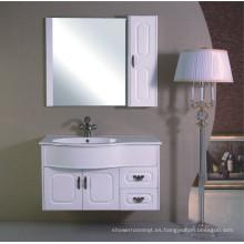 Muebles del gabinete de cuarto de baño de los 100cm (B-336)