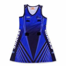 Vestido de Netball da impressão cheia do costume da forma a mais nova 2015