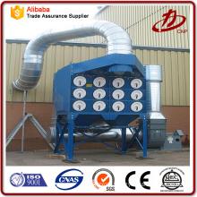 Dust separator system cartridge dust collectors