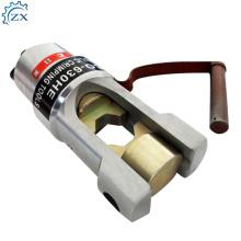 Ferramenta de friso hidráulica das ferramentas Hp-120C das ferramentas do talão do cabo da bateria de cobre da durabilidade