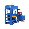 Ecological hand operated hydraulic concrete paving bricks block making machine