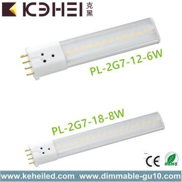 Tubes 2G7 6W LED 360D 4 broches CFL
