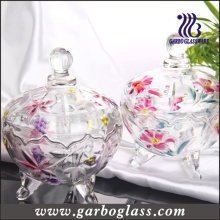 Lily Glass Candy Jar (GB1804LB/P)