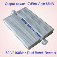 Главная Сотовый телефон сигнал Booster CDMA Dcs 850 1800 МГц 3G сигнала Booster