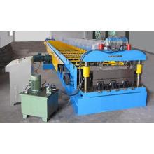 Máquina formadora de rolos frios de plataforma de piso de alta qualidade totalmente automática