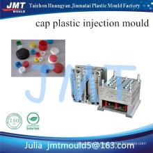 fabricante de molde de injeção plástica de tampa garrafa