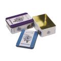 Rectangulaire en forme de paquet de thé peut contenir Contanier