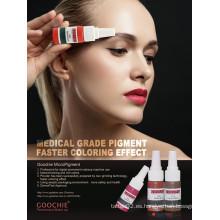 Goochie Pure Planta Material Derma Prueba Labios Cejas Maquillaje Tinta