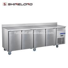 FRUC-6-1 FURNOTEL 4 portes congélateur réfrigérateur congélateur sous le comptoir avec dosseret