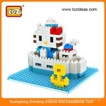 LOZ 9406 детские игрушки строительные блоки головоломка игра