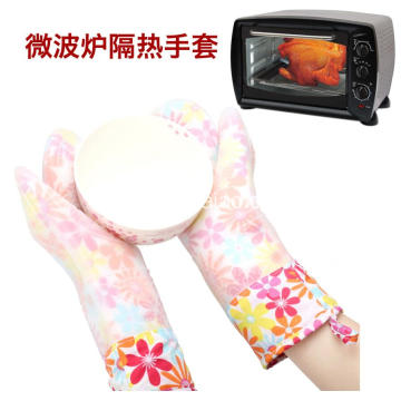 Color Printing Baking Glove Silicone Mitt for Bake
