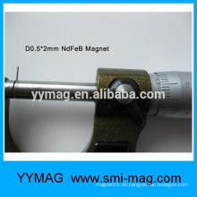 Professionelle kleine Magnet Mini Magnet Mikro Neodym Magnete