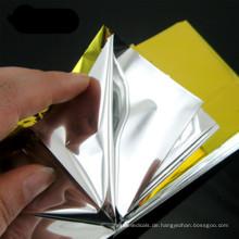Reflektierende Mylar Silber Decke Notfall Überlebens-Essen-Kits