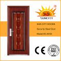 Puerta de acero de garaje de alta calidad moderna de la seguridad (SC-S002)