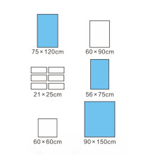 High absorption capacity Delivery set Surgical Drapes