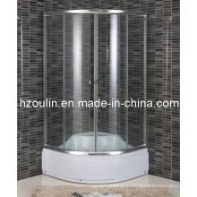 Chuveiro de porta deslizante de vidro para vidro (E-17)
