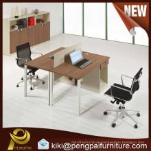 malamine 2 person office desk
