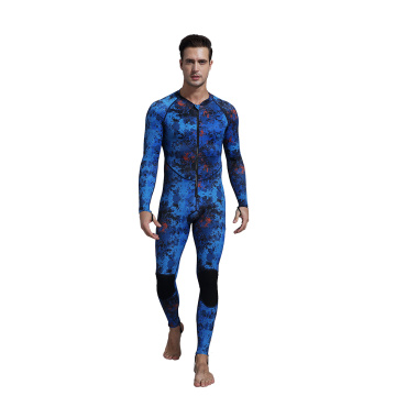 Seaskin Zip Front One Piece Swimwear Rash Guard
